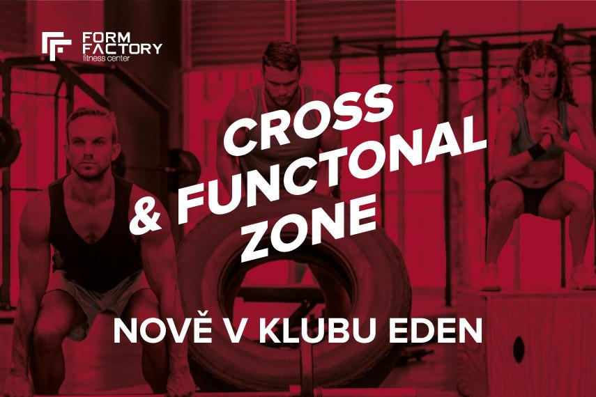 Cross & functional zone - nově v klubu Eden