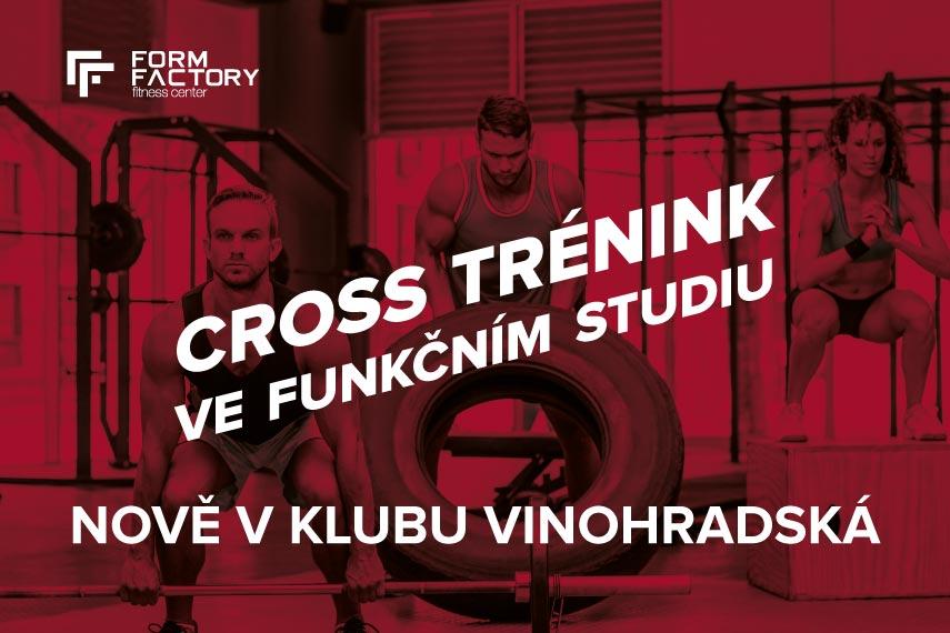 Cross trénink ve funkčním studiu - nově v klubu Vinohradská