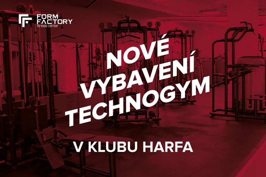 Nové vybavení Technogym v klubu Harfa