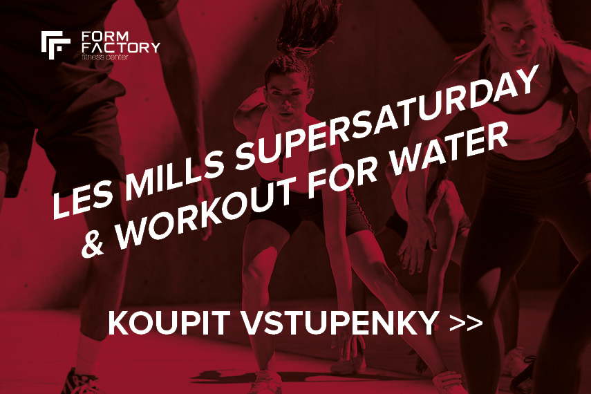 Les Mills SuperSaturday & Workout for Water - KOUPIT VSTUPENKY